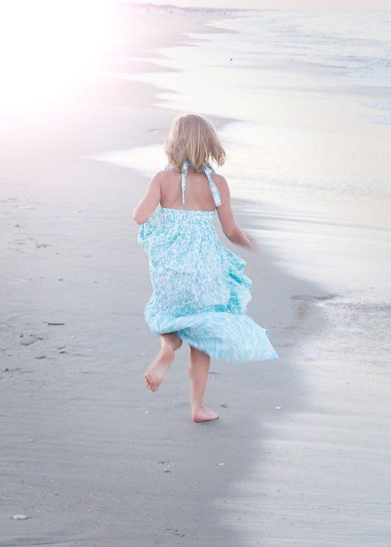 Little Girls Maxi Dress Toddler Maxi Dress EASTER dress Maxi