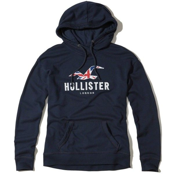Hollister London Logo Graphic Hoodie (€17) ❤ liked on Polyvore featuring tops, hoodies, navy, hooded sweatshirt, fleece hooded sweatshirt, navy hoodies, blue hooded sweatshirt and navy blue hoodie