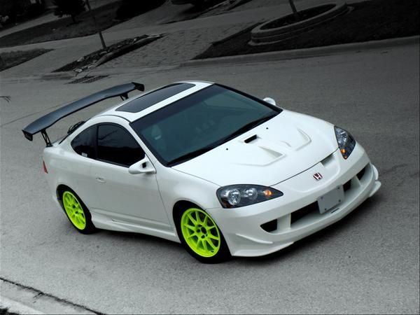 honda rsx lime green