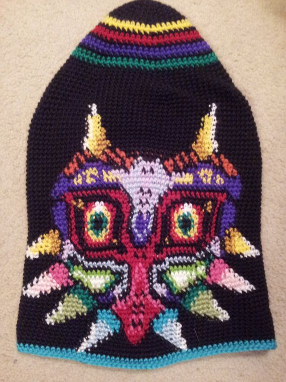 Legend of Zelda Majoras Mask Beanie by Crochet3531 on Etsy Crochet ...