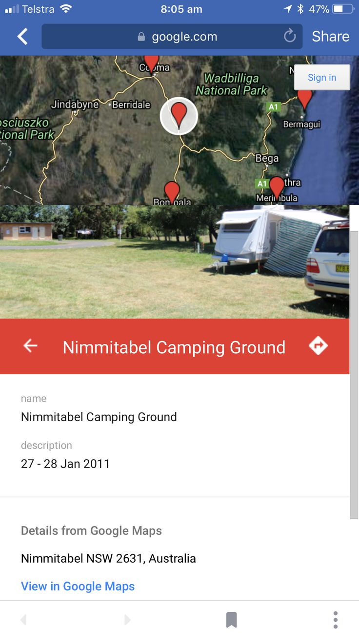 Nimmitable Campground  NSW (Snowy Mountains) Dog friendly