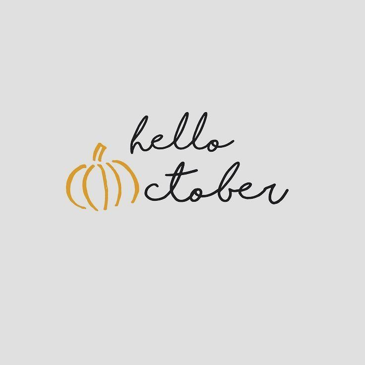 Hello October! and Happy National Emotional Wellness month! What does wellness mean to you? #emotionalwellness  #wellness #hellooctober