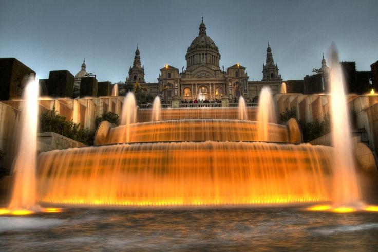 Montjuic  Barcelona by Pedro Galisteo