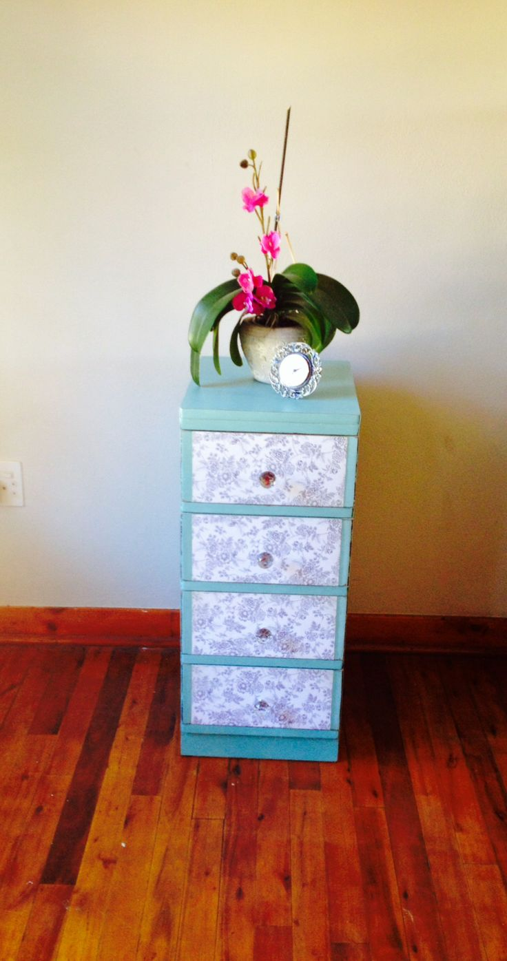 I have 2 of these!  Sold as a pair or individually. Shop online with ArtEsense http://www.artesense.co.za/pSKU163/Shabby-Chic-Wooden-Chest-of-Drawers.aspx  Since these are small little chest of drawers, and come as a pair, they can be used as bedside tables alongside a large high-set bed.  Alternatively they can be used for display in a bedroom or any other room in the home. - See more at: http://www.artesense.co.za/pSKU163/Shabby-Chic-Wooden-Chest-of-Drawers.aspx#sthash.Dg9iTRRd.dpuf