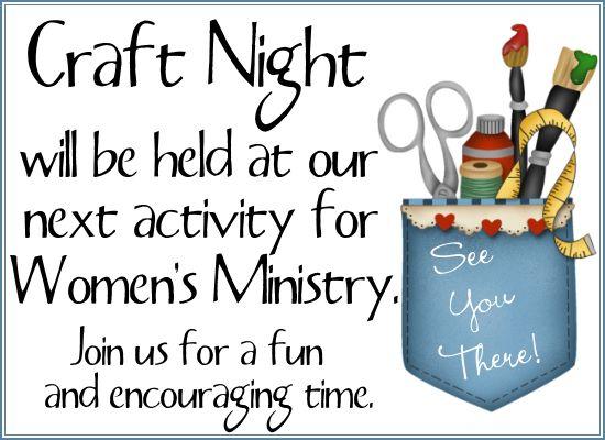 Ladies Fellowship Ideas   Women's Ministry Invite Printables