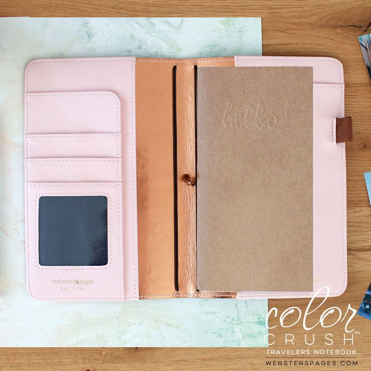 Webster's Pages Color Crush Personal Planners (inside walnut)