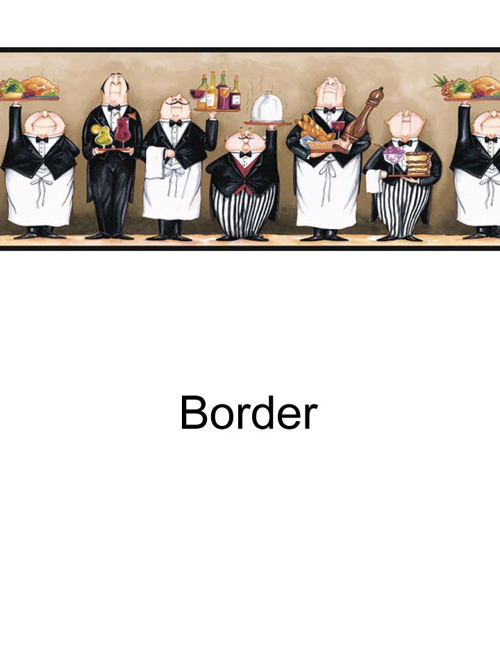Chefs border from wallpaperwholesaler.com