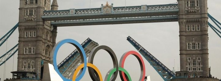 Couverture facebook Olympic rings River Thames Tower Bridge London London 2012 Olympic Games Wallpaper HD
