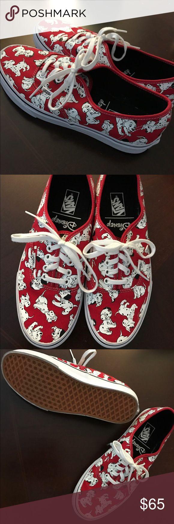 HOT & STYLISH AUTHENTIC DISNEY 101 DALMATIANS VANS 👀👀NEW SUPER HOT AND STYLISH AUTHENTIC DISNEY 101 DALMATIANS VANS👀👀.  UNISEX.  MENS 9    WOMENS 10 1/2.       NO LOW BALLING!!! Vans Shoes