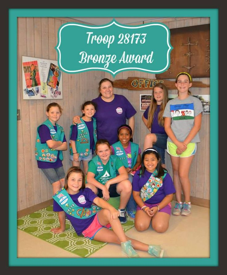 44 Best Girl Scout Bronze Award Images On Pinterest -4663