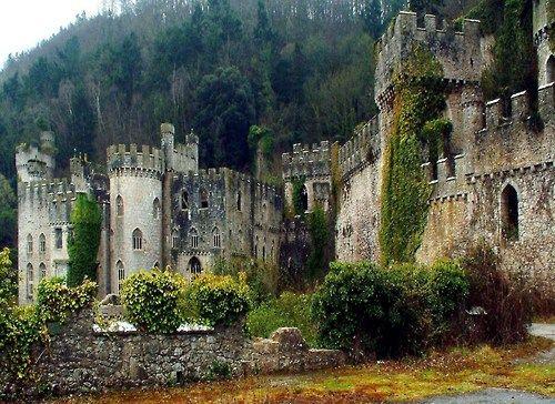 Gwrych Castle in Conwy, United Kingdom