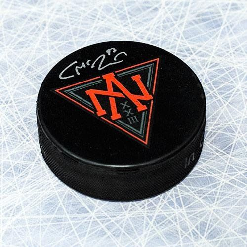 Connor McDavid Autographed Hockey Puck - North America 2016 World Cup Of - Autographed NHL Pucks * Click image for more details.