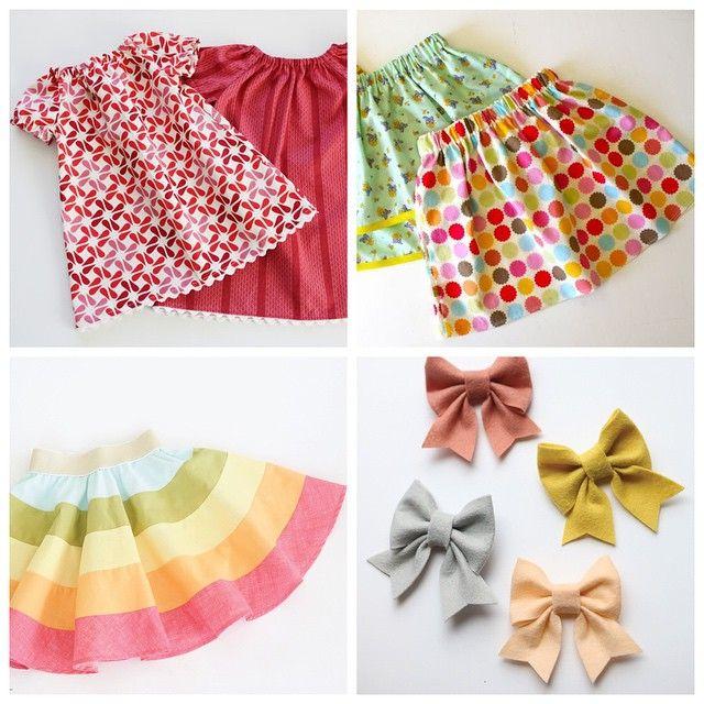 Бесплатные выкройки и МК детской одежды.