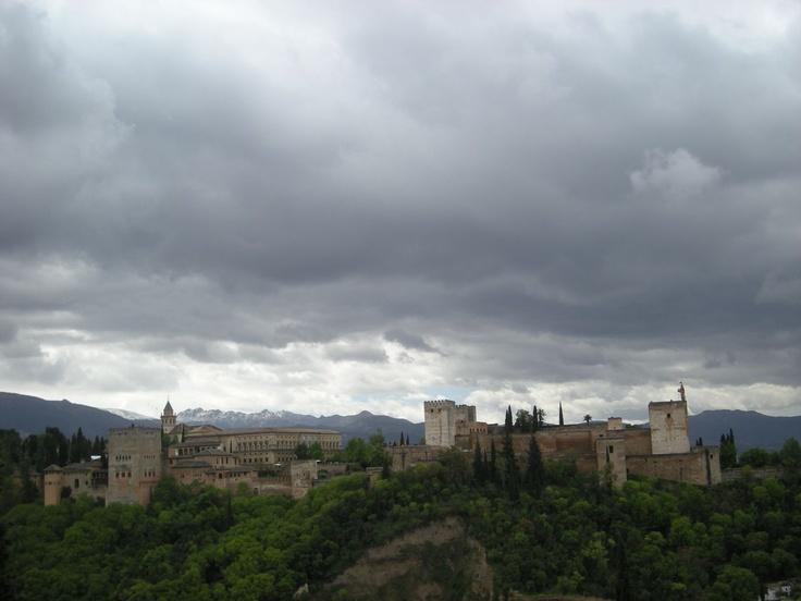 Above Alhambra, Granada, Spain