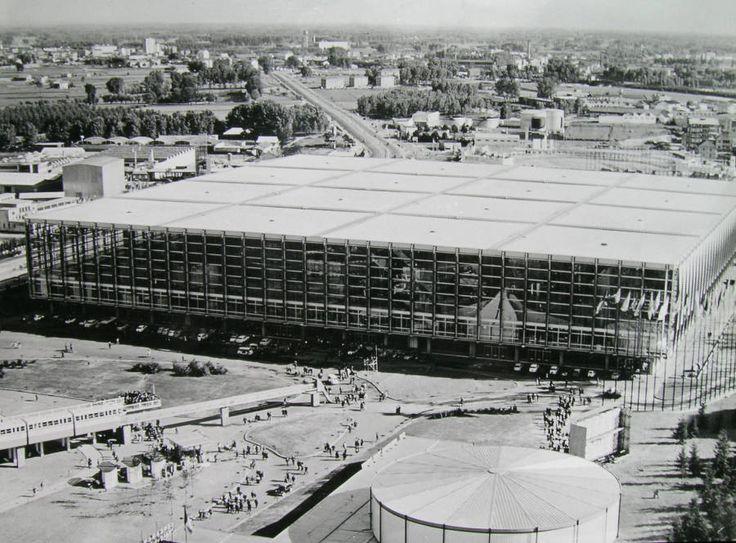 Palazzo del Lavoro by Pier Luigi Nervi, Torino, 1961.