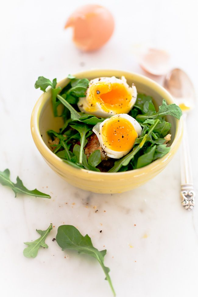 Salad for breakfast is good...