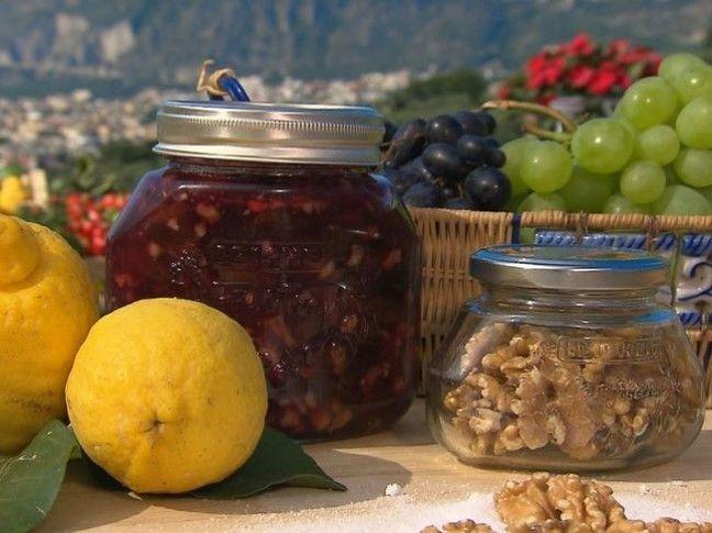 Confettura di uva e noci | Conserve di casa