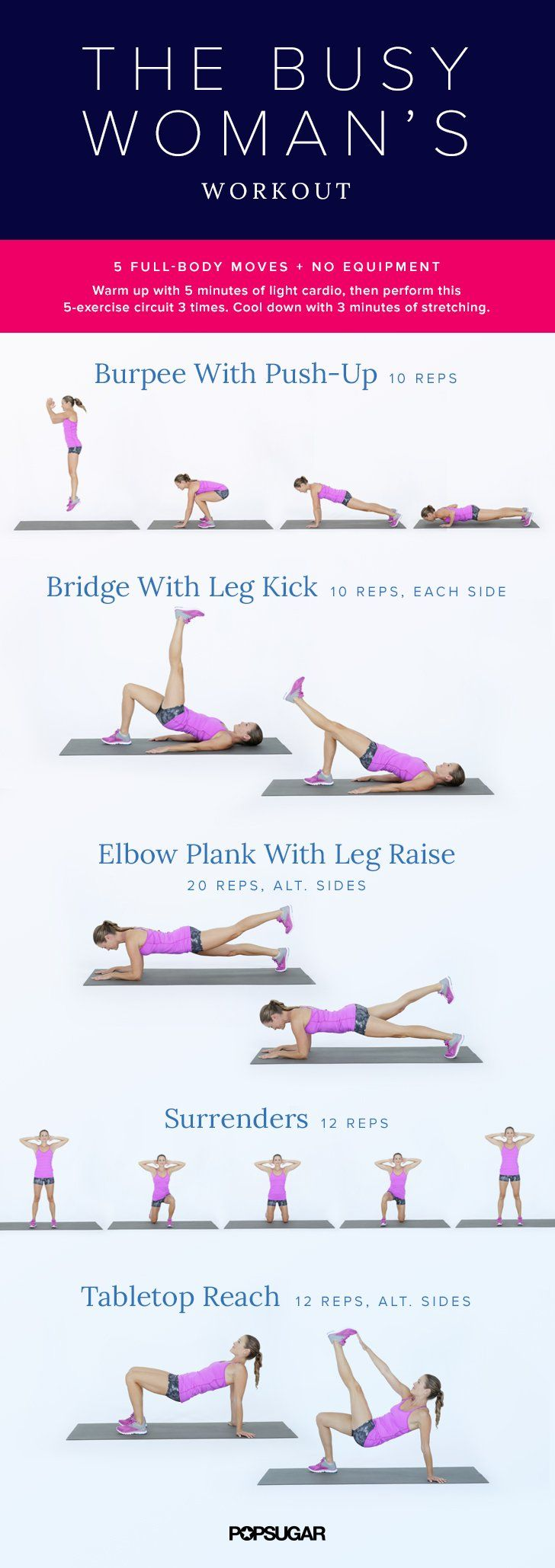 Fitness, Health & Wellbeing | The Busy-Woman's Workout | POPSUGAR Fitness UK Photo 7