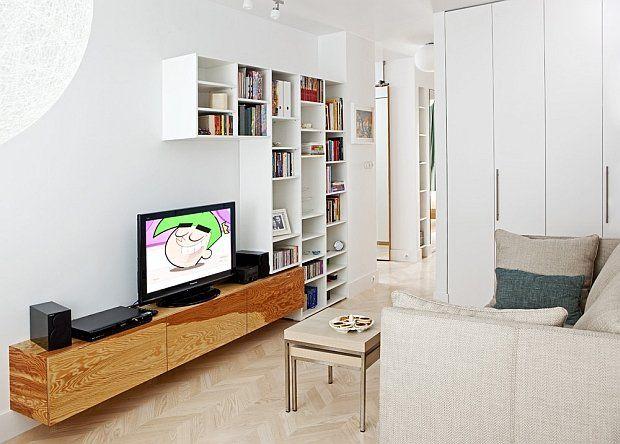 Słoneczne mieszkanie w Warszawie - 49 m2
