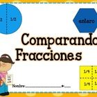 1. Comparando Fracciones de: (Color y B/N) Círculo Hexágono Cuadrado Rectángulo  2. Menú Restaurante de Fracciones (Portada a color y lo demás B/N)...