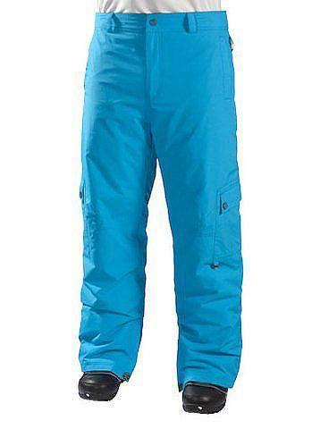 Бирюзовые брюки для сноуборда