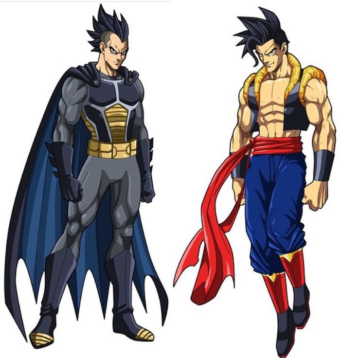 Brugeta (BatmanVegeta) or Gokal (SupermanGoku). By @philchoart  Who you got? (son goku x kal el = son-el) #batmanvsuperman #dbz #art #illustration #dccomics #dragonballz #dbsuper #vegeta #goku #fusion #batman #superman #artistlife #dragonball by devilzsmile.com #devilzsmile
