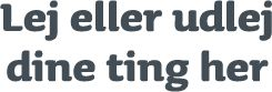 www.jepti.dk formidler ejer-lejer kontakt på dine hverdagsting