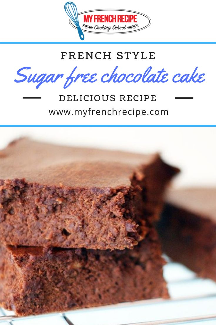 Un gâteau au chocolat sans sucre et sans beurre?! Mais pourquoi?? J'ai décidé de redu …   – dessert