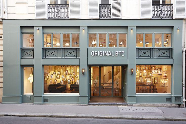 Original BTC Paris showroom opens: 32-34 Rue Bonaparte, Saint Germain des Pres, Paris.