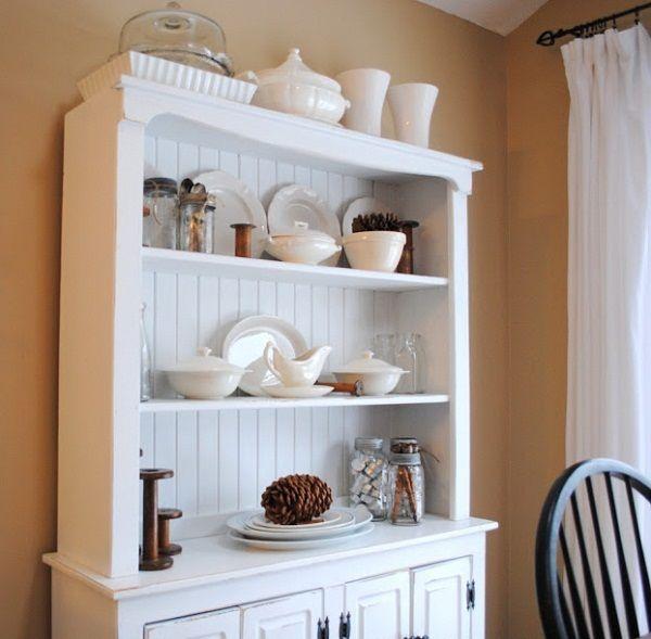 Open Kitchen Cabinet Decorating Ideas: 45 Best Hutch Designs / Ideas Images On Pinterest