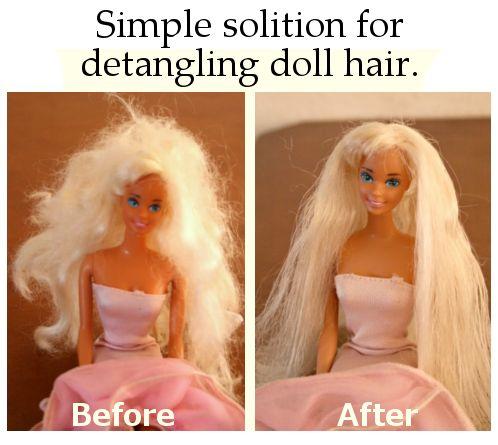 diy home sweet home: Barbie Hair Fix