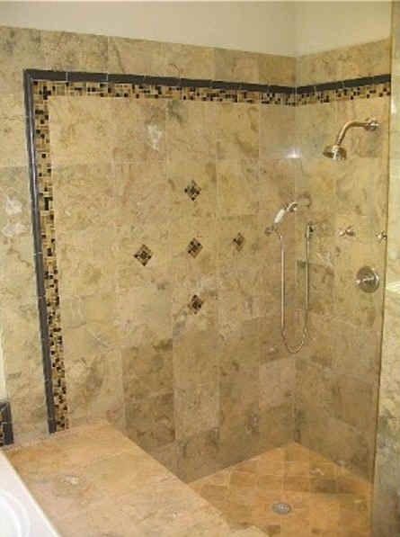 7 Best Tile Shower Niches Images On Pinterest Bathroom