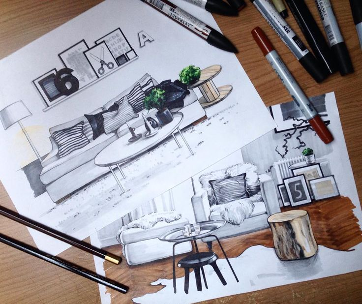 #sketch #interior #matveeva_sketch