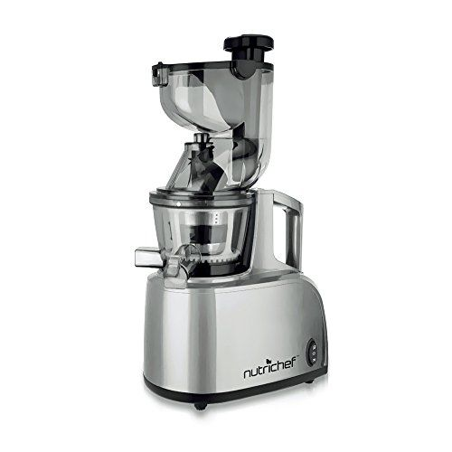 Special Offers - NutriChef PKSJ40 Countertop Masticating Slow Juicer Juice and Drink Maker ...