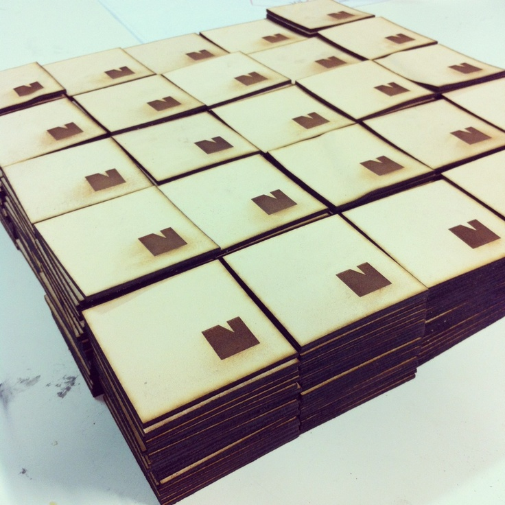 Adam from Laser Cut Studio made an amazing work with Nurmi jeans labels! Soon to be attached to Nurmi jeans..