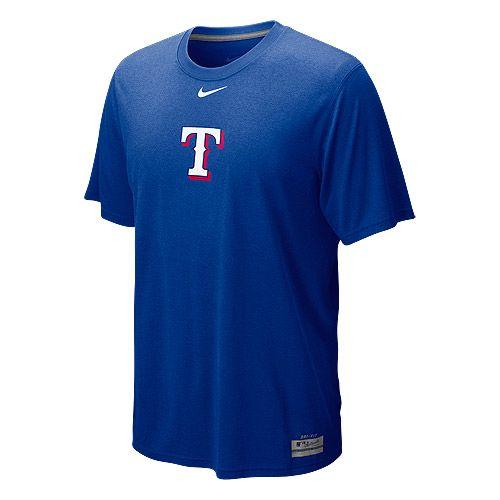Texas Rangers AC Dri-FIT Logo Legend T-Shirt by Nike