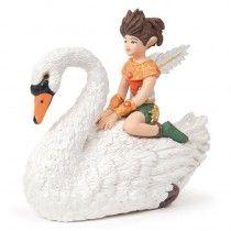 Papo Figurine - Elf Child on Swan 39076