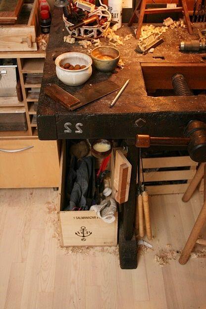 Workbench restore (Scandinavian style) #7: Grease pot for the bench - by mafe @ LumberJocks.com ~ woodworking community