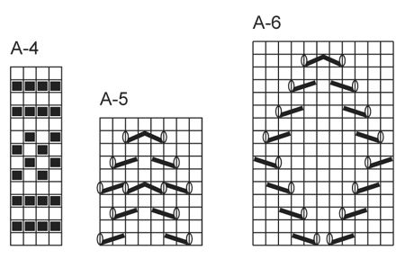 "Princess socks - DROPS pitsineulesukat ""Fabel""-langasta. - Free pattern by DROPS Design"