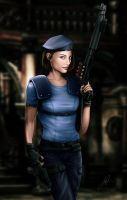 Jill Valentine (Julia Voth) 2 by AaronPage