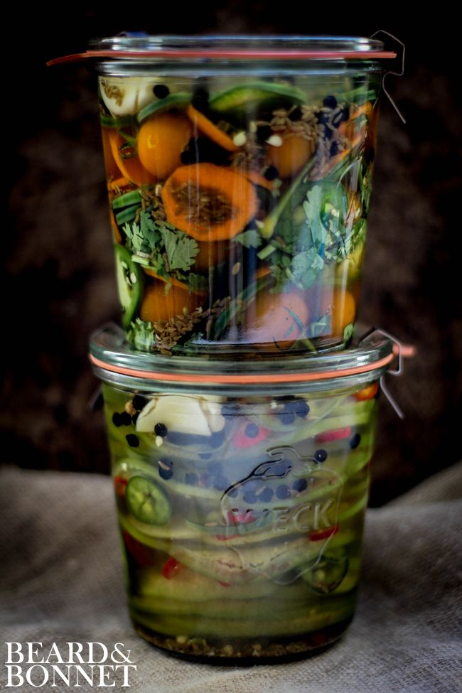 Small Batch Pickles (Vegan and Gluten-Free) - Beard + Bonnet #projectlunchbox