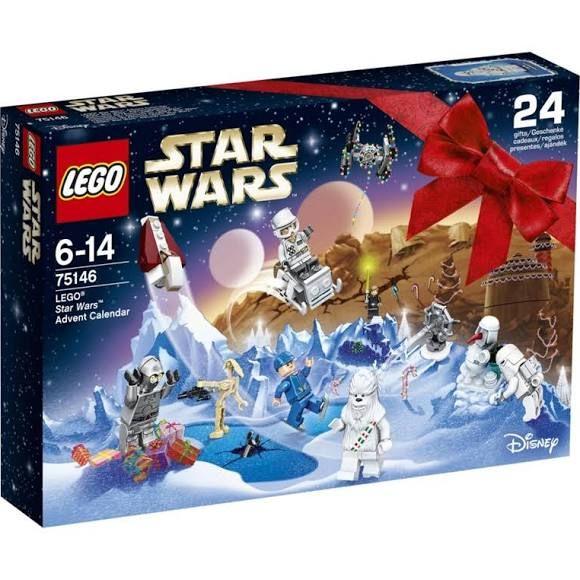 lego star wars advent calendar 6 14 yrs old