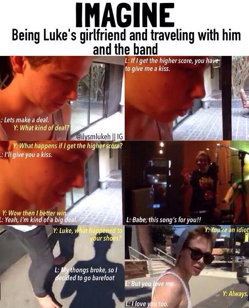 #Imagine: Being Luke's girlfriend | ★5SOS Imagines★ | 5 seconds of summer imagines, 5SOS, Luke ...