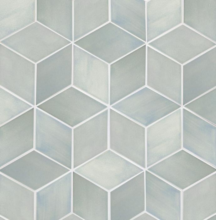 Large Diamonds 22e Blue Opal Diamond Tile Pattern Diamond Tile Wet Rooms