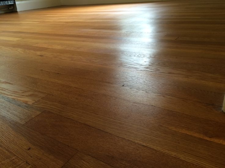 """Don't like those plastic polyurethane finishes? Use Hardwood oils for a more natural look and feel.   This floor was refinished with 2 coats of Loba 2k impact color : Billinga on 2 1/4"""" white Oak flooring. Matte finish"""