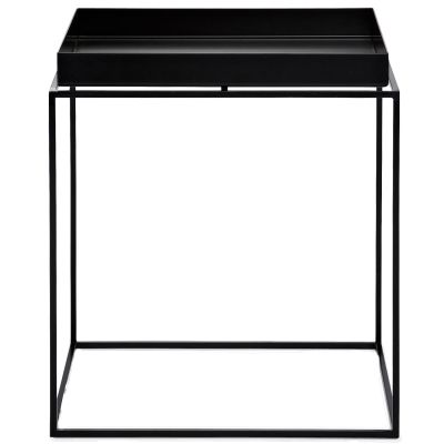 Tray table M square 44 cm black
