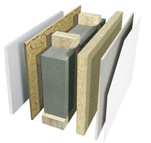 Holzrahmenbau wandaufbau detail  9 besten Holzrahmenbau Bilder auf Pinterest | Holzrahmenbau ...