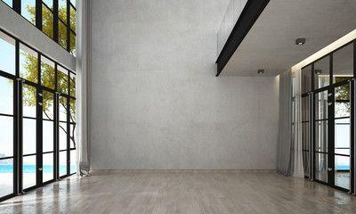 empty background wall modern interior brick lounge living concrete adobe walls dining sea fotolia salvo br