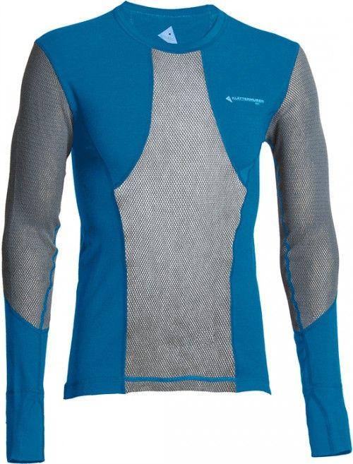 Klättermusen M's Grid Net Sweater Blue Sapphire - Klättermusen - H–M - Varemerker