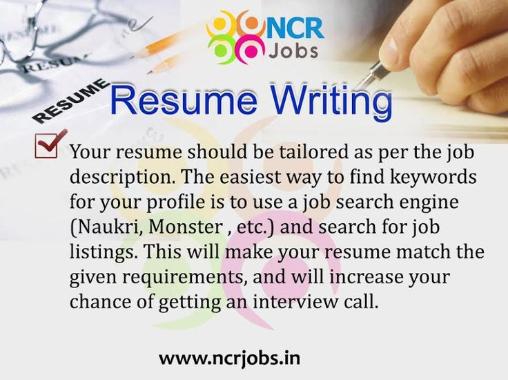 resume writing tip 7 wwwncrjobsin